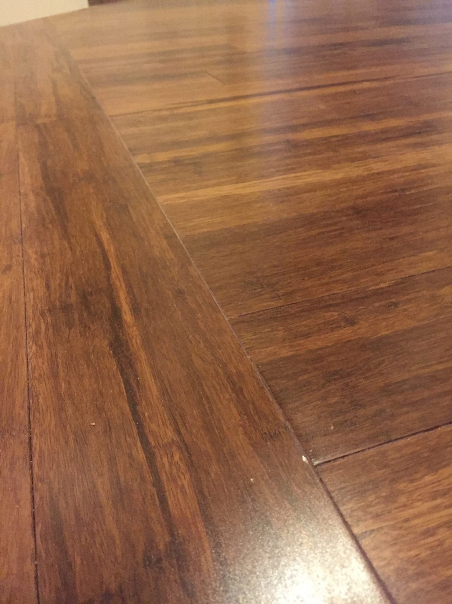 close up wood flooring