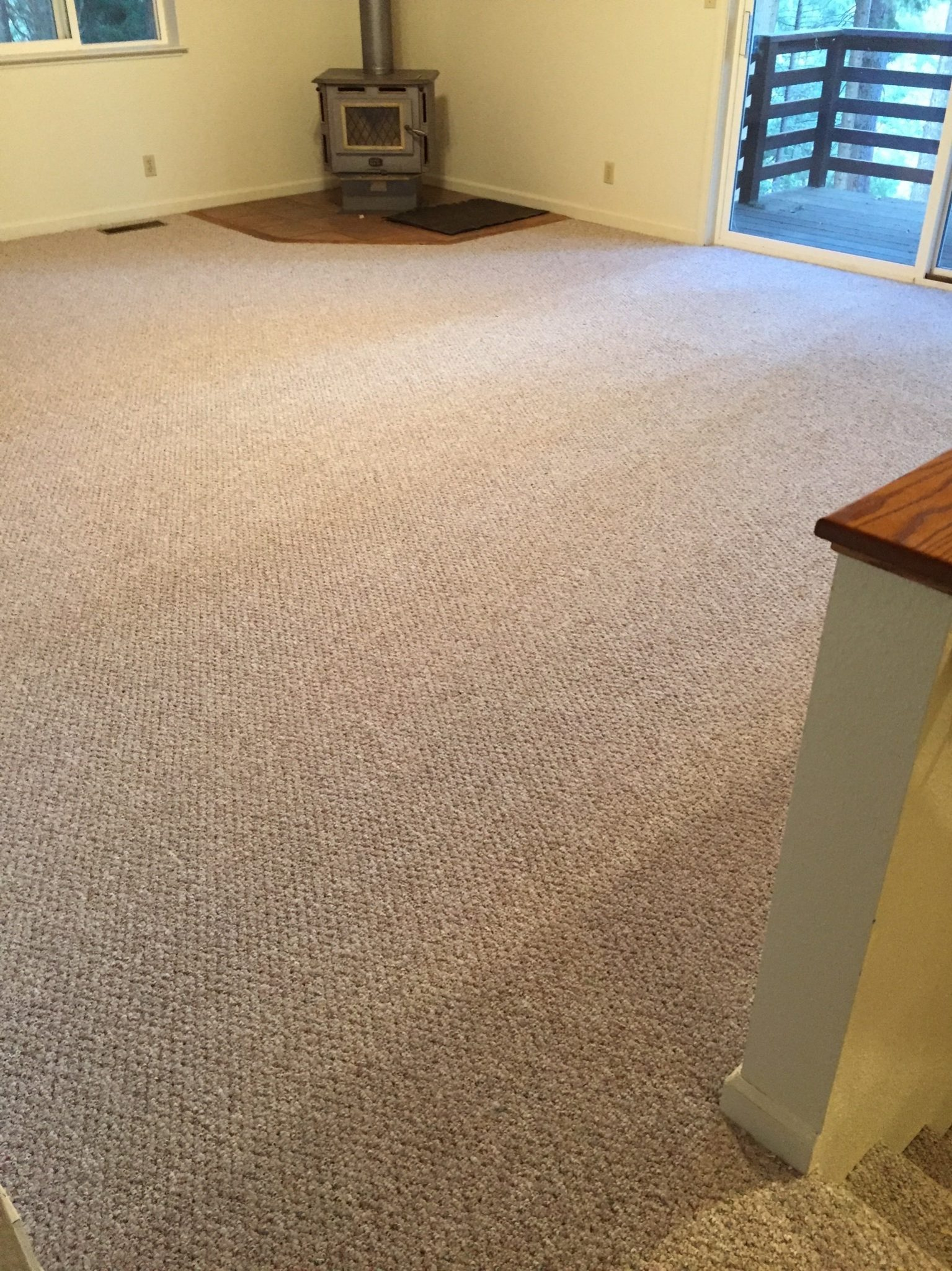 full room carpeting