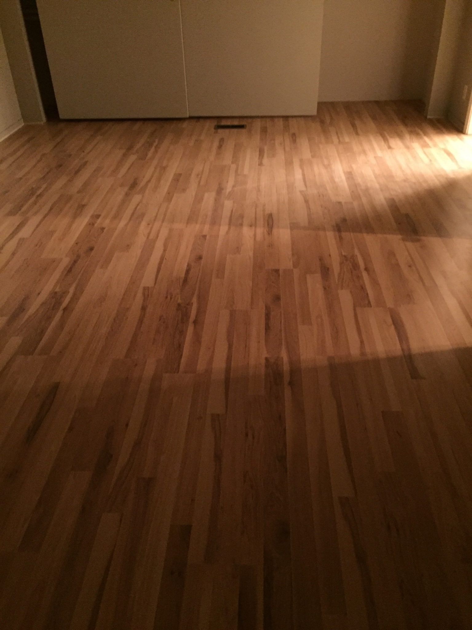 full room wood panel flooring