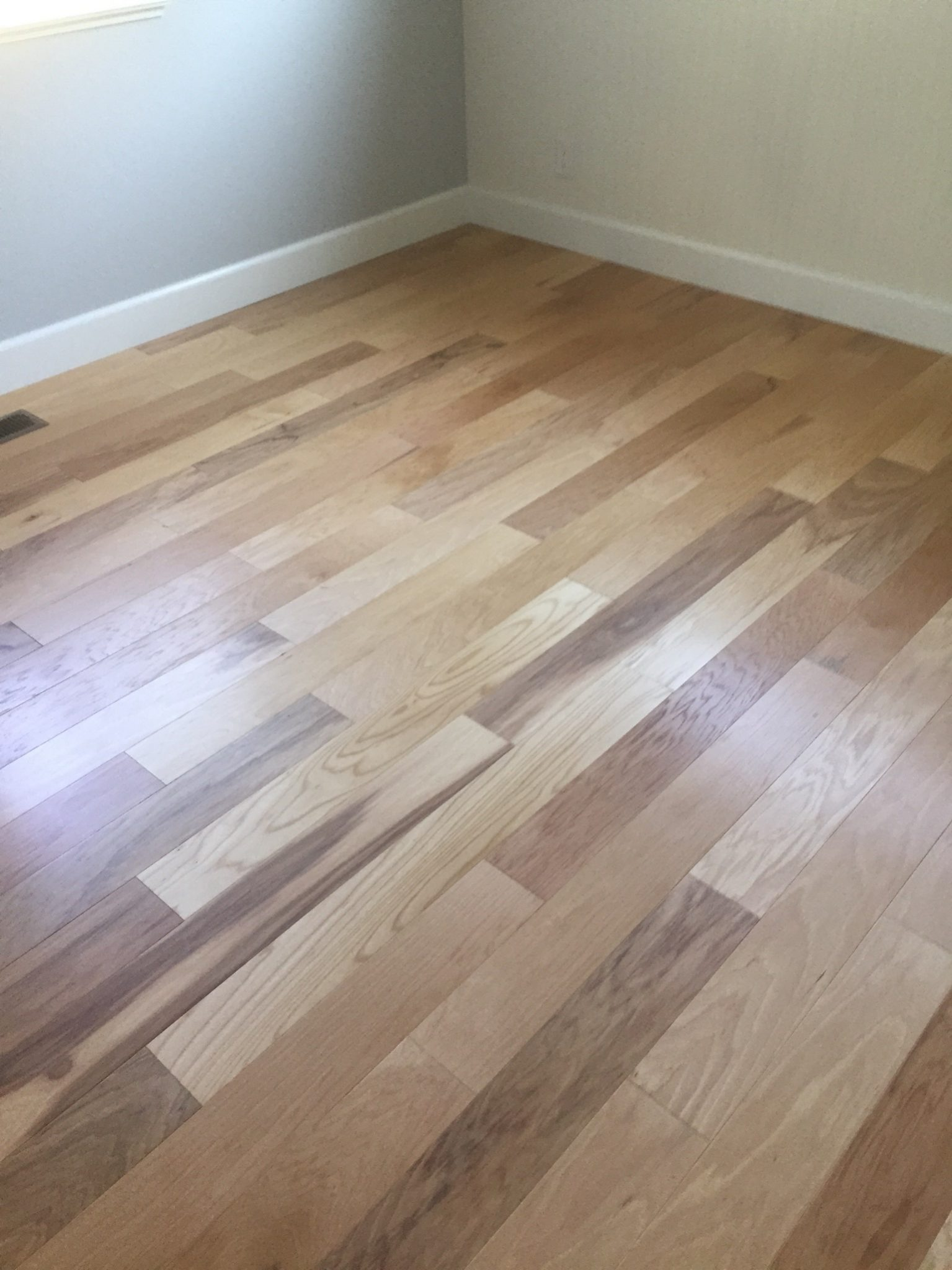 light wood panel flooring